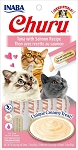 Inaba Churu Tuna with Salmon Lickable Cat Treat, 0.5oz tube pack of 4